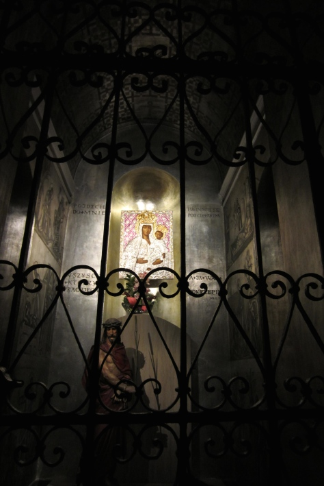There is a shrine to Our Lady of Częstochowa in just about every church in Poland.